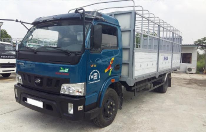 Bán xe Veam VT650 thùng dài 6m1 tải trọng 6T5 3