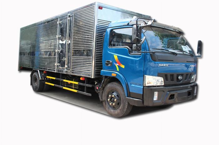 Bán xe Veam VT650 thùng dài 6m1 tải trọng 6T5 6