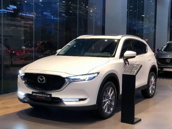 Bán Mazda NEW CX5 2020, trả trước 240 triệu nhận xe, mỗi tháng trả ngân hàng 12 triệu 0