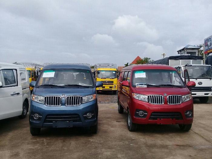 Xe tải DongBen 5 chỗ - cam kết tặng 100% trước bạ - Vay cao 1