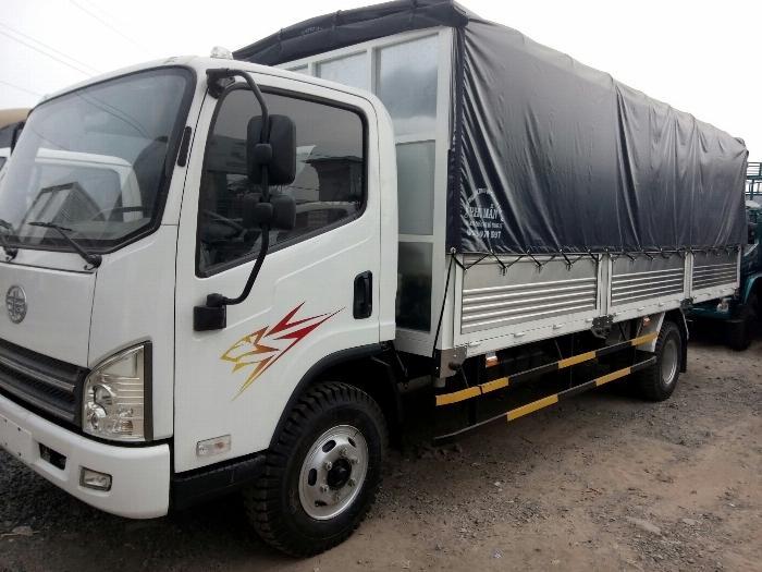 Bán xe Faw Yuchai thùng dài 5m1 4
