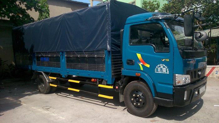 Bán xe tải Veam VT750 thùng dài 6m1 5