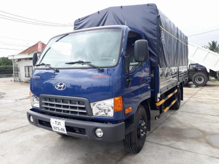 Bán xe tải Huyndai New Mighty thùng dài 5m1 trọng tải 7T8 4