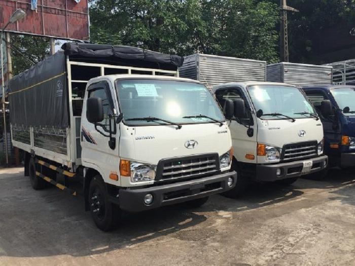 Bán xe tải Huyndai New Mighty thùng dài 5m1 trọng tải 7T8 5