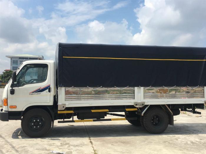 Bán xe tải Huyndai New Mighty thùng dài 5m1 trọng tải 7T8 0