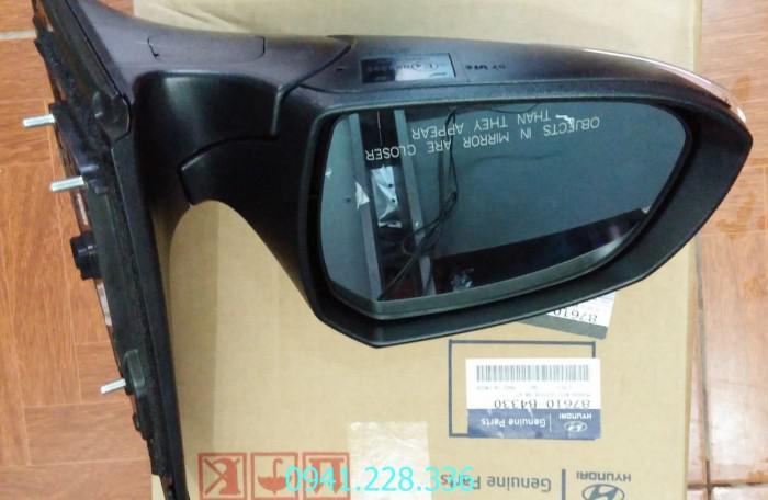 87610B4330  87620B4330 Gương chiếu hậu trái 7 rắc HyundaiGrand i10 0