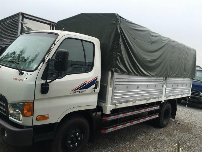 Bán xe tải Huyndai New Mighty thùng dài 5m1 trọng tải 7T8 1