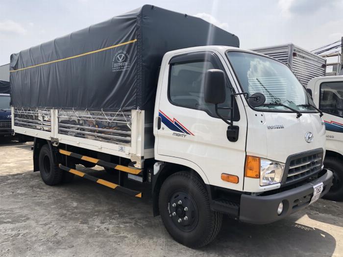 Bán xe tải Huyndai New Mighty thùng dài 5m1 trọng tải 7T8 3