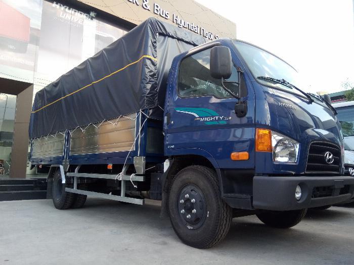 Hyundai 110sp 7 tấn thùng mui bạt