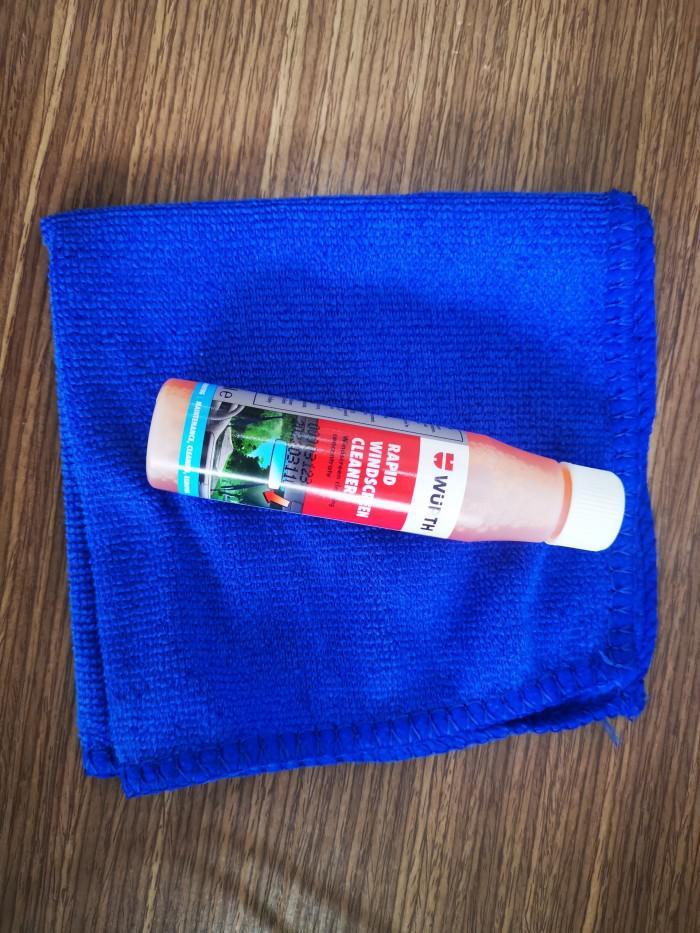 Dung Dịch Vệ Sinh Kính Lái Wurth Rapid Windscreen Cleaner 32ML Tặng Khăn 4