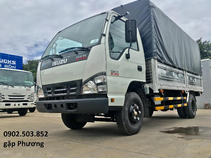 Xe tải ISUZU QKR270 Thùng Mui Bạt mới 100% -1,9 tấn, 2,2 tấn, 2,8 tấn