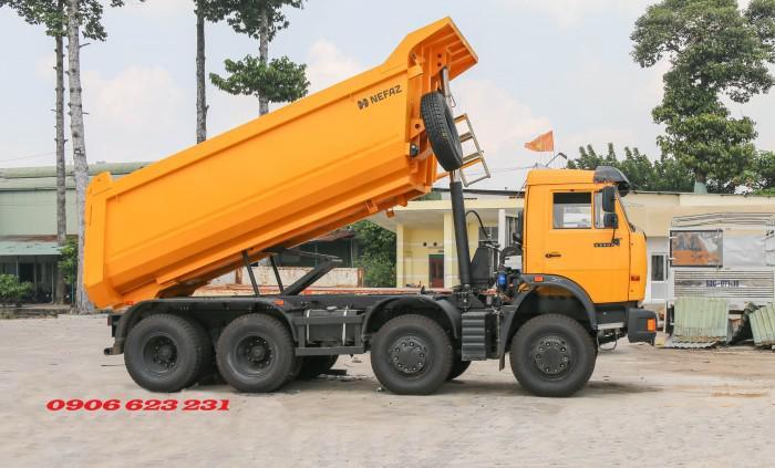 Bán Xe ben Kamaz 6540 (8x4) / Bán Xe ben 20 tấn Kamaz 15m3  tại Bình Dương 11