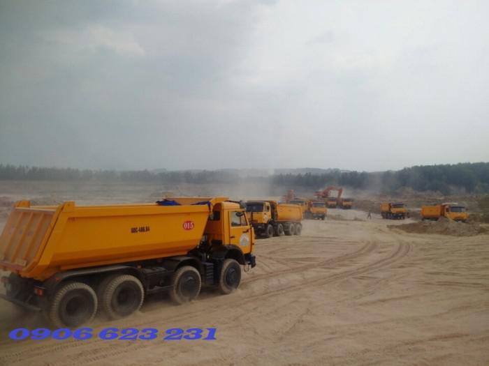 Bán Xe ben Kamaz 6540 (8x4) / Bán Xe ben 20 tấn Kamaz 15m3  tại Bình Dương 1