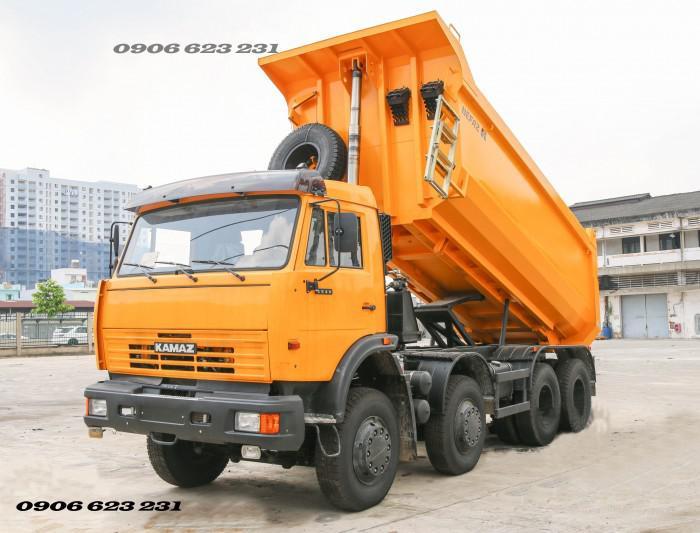 Bán Xe ben Kamaz 6540 (8x4) / Bán Xe ben 20 tấn Kamaz 15m3  tại Bình Dương 13