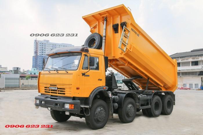 Bán Xe ben Kamaz 6540 (8x4) / Bán Xe ben 20 tấn Kamaz 15m3  tại Bình Dương 9