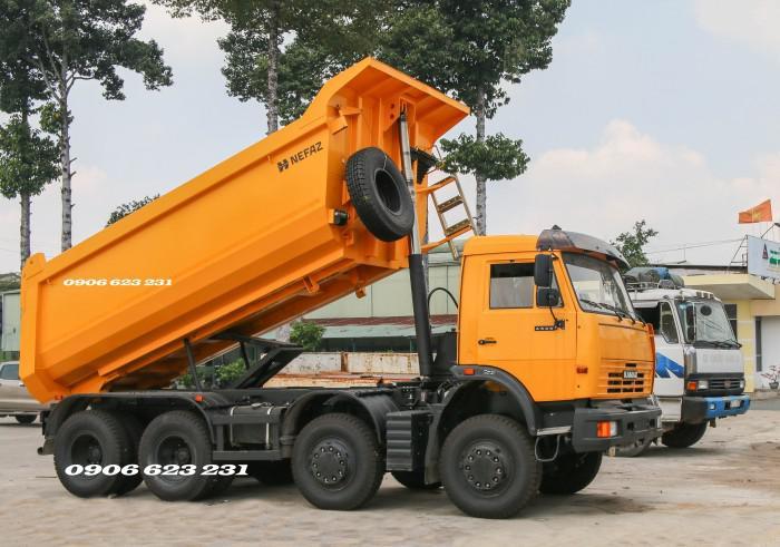 Bán Xe ben Kamaz 6540 (8x4) / Bán Xe ben 20 tấn Kamaz 15m3  tại Bình Dương 17