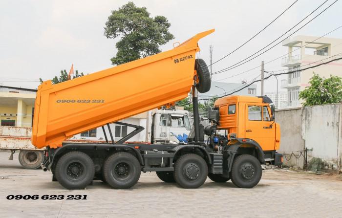 Bán Xe ben Kamaz 6540 (8x4) / Bán Xe ben 20 tấn Kamaz 15m3  tại Bình Dương 18