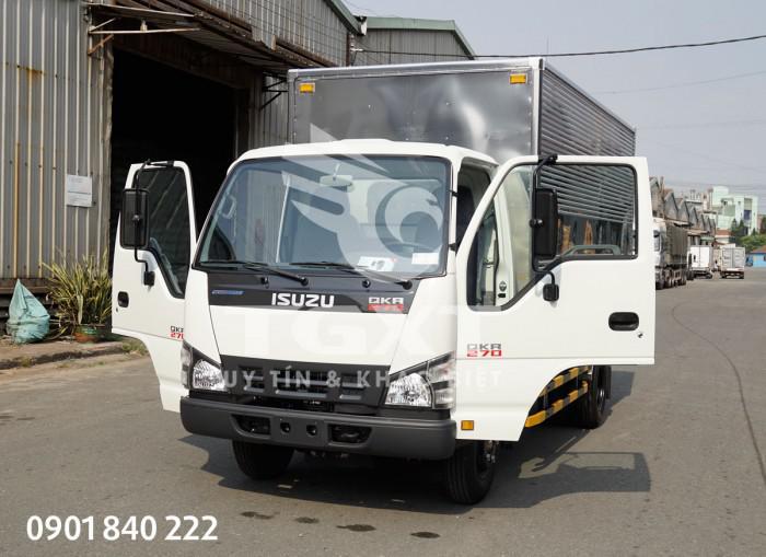 Xe tải Isuzu QKR270 thùng kín, tải 1T4, 1T9, 2T1, 2T4, 2T9 0