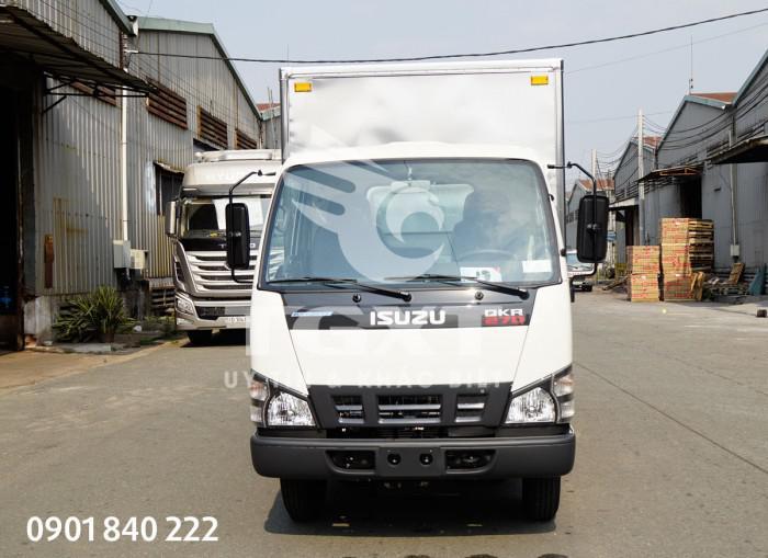 Xe tải Isuzu QKR270 thùng kín, tải 1T4, 1T9, 2T1, 2T4, 2T9 2