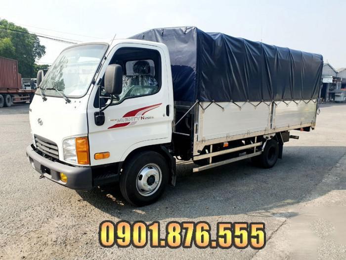 Hyundai N250SL thùng dài 4m3 trả trước 20% bao lo giấy tờ 0