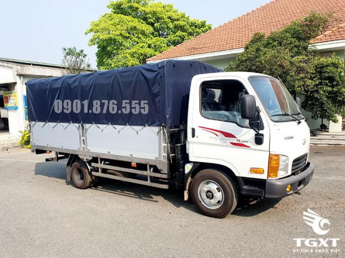 Hyundai N250SL thùng dài 4m3 trả trước 20% bao lo giấy tờ 5
