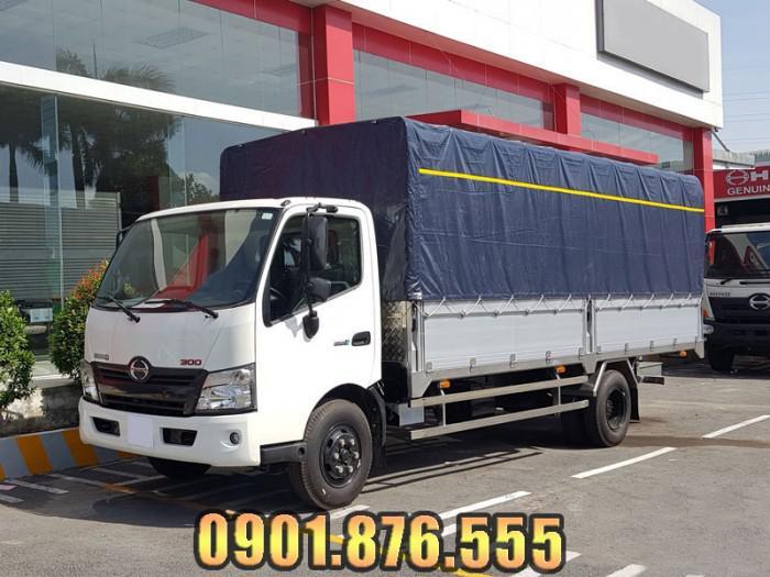 Hino XZU720L thùng dài 5m2 hỗ trợ vay cao toàn quốc 3