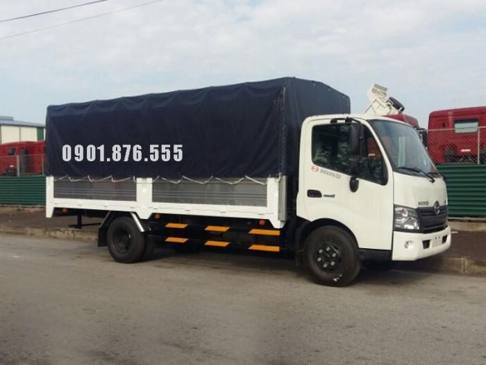 Hino XZU720L thùng dài 5m2 hỗ trợ vay cao toàn quốc 0