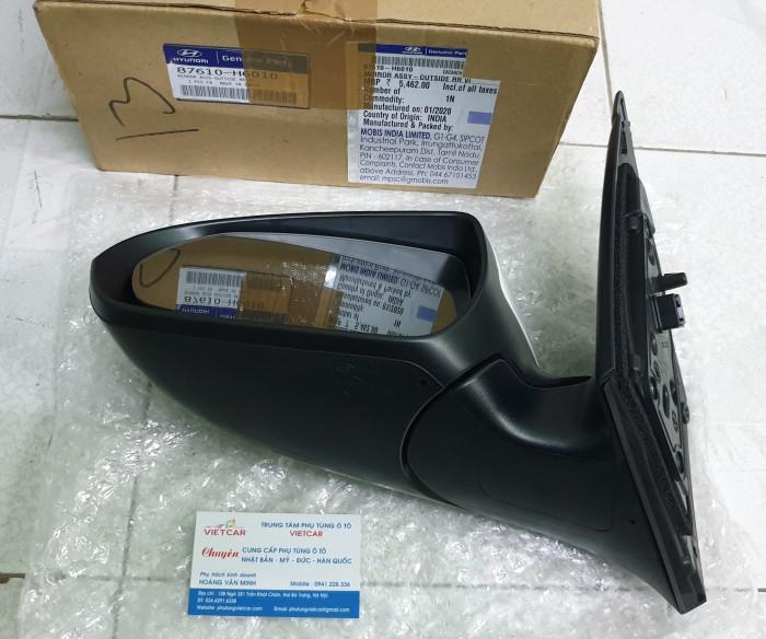 87610H6010 Gương chiếu hậu trái Hyundai Accent 1