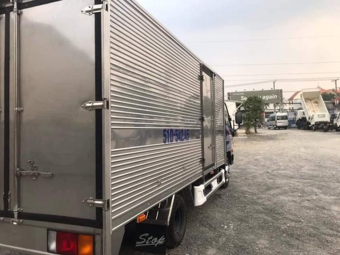 Giá Xe Tải Hyundai N250SL Thùng Kín 4M3 2019 Full Inox 304