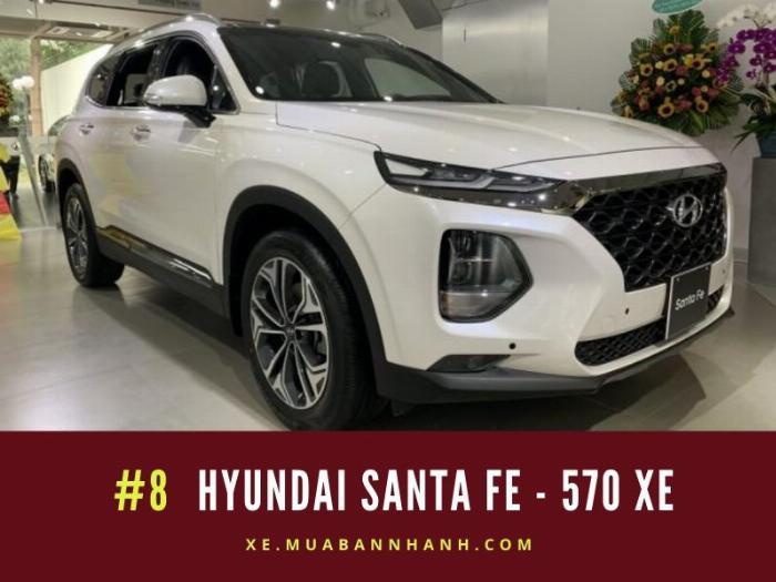 Hyundai Santa Fe: 570 xe