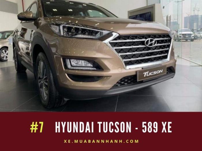 Hyundai Tucson: 589 xe