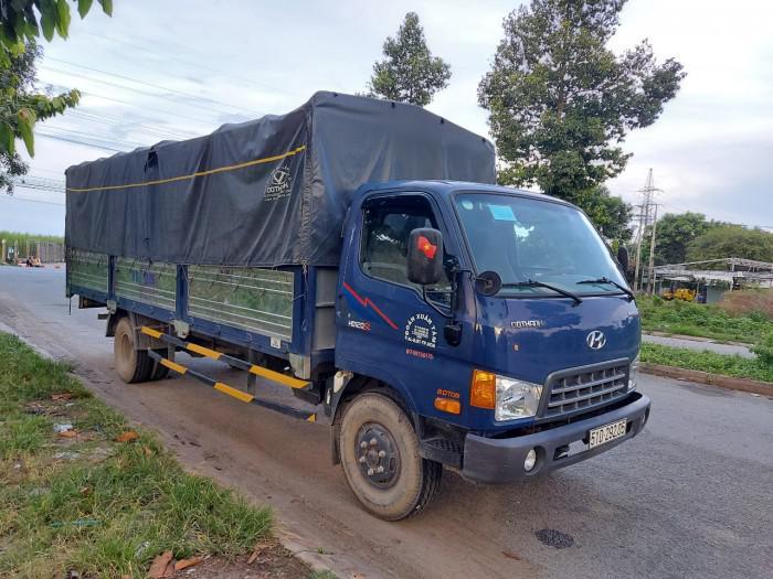Bán Gấp Hyundai HD120SL 8 Tấn Thùng Bạt 2017 Ga Cơ 1