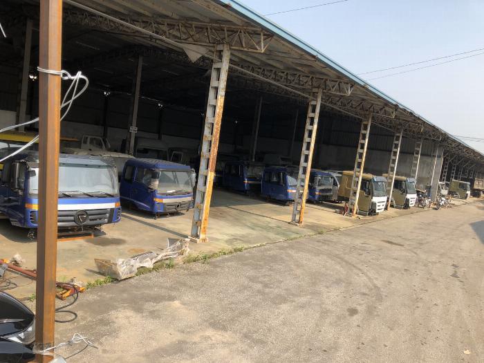 Cabin CAMC, cabin Dongfeng, cabin Chenglong, cabin xe tải Vinaxuki