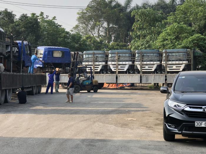 Cabin xe tải, phụ kiện, phụ tùng thay thế cho xe tải chất lượng, hàng chính hãng 100%