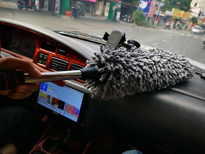 Các loại chổi lau bụi, vệ sinh xe ô tô