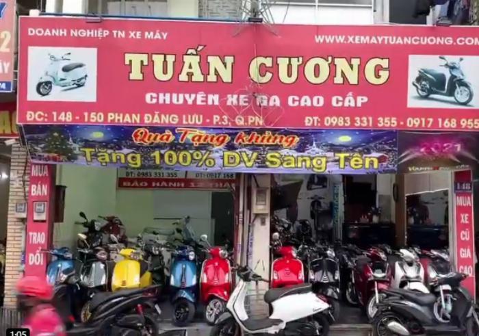 Cửa hàng xe máy Tuấn Cương