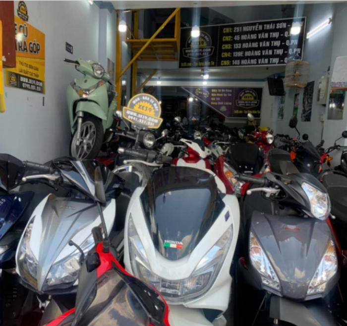 Hệ thống cửa hàng xe máy cũ xe39