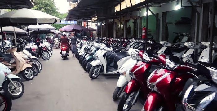 Chợ xe máy cũ Hà Nội