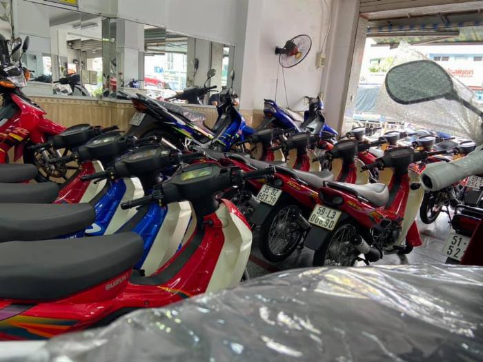 Chợ trời xe máy An Sương
