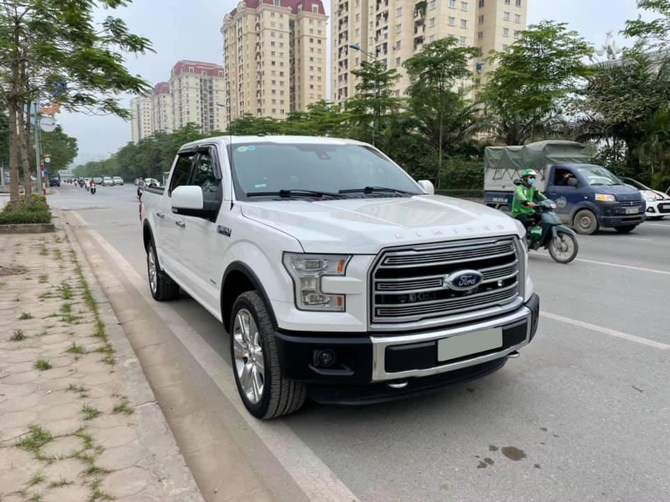 Bán Ford F150 Limited V6 3.5L mạnh mẽ, cơ bắp Mỹ nhập khẩu nguyên chiếc, Siêu bán tải