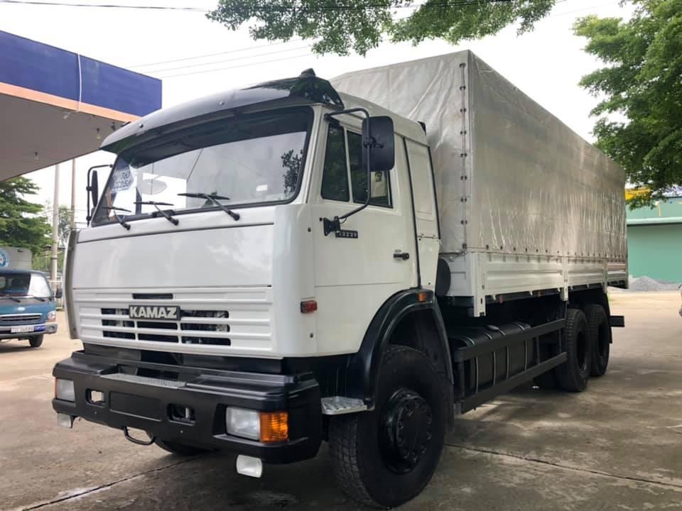 Tải thùng Kamaz 15 tấn | Bán xe tải 3 chân Kamaz 53229 thùng tại Bình dương [ Trả góp]