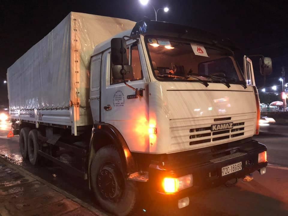 Tải thùng Kamaz 53229  tại Bình Phước | Bán xe Kamaz 15 tấn thùng nhập Nga