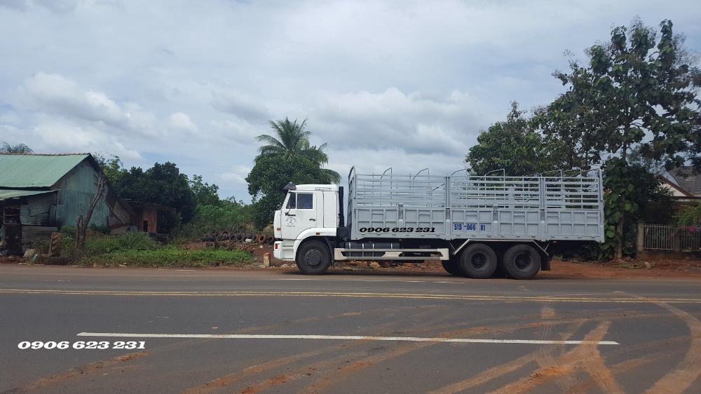 Bán xe tải Kamaz 15 tấn thùng 7m8 / Bán xe Kamaz 3 giò nhập khẩu