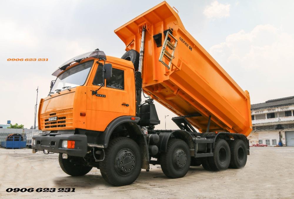 Ben 4 giò Kamaz / Bán xe ben Kamaz 4 giò 15m3 nhập khẩu [ hỗ trợ trả góp]