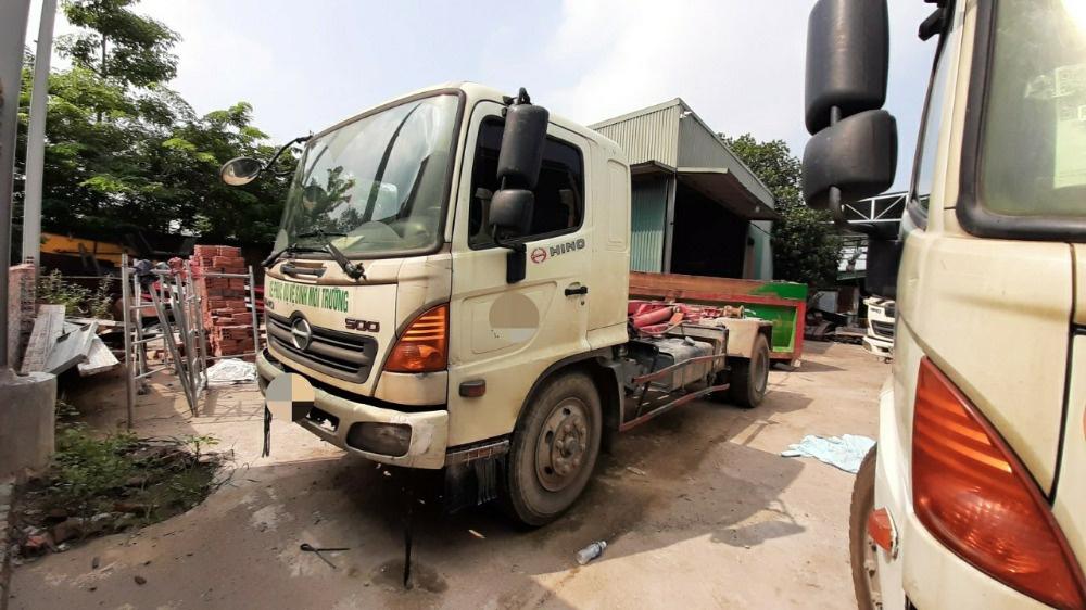 Bán xe chở Rác thùng rời Hino FG thùng 14 khối