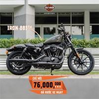 Harley Davidson Iron 883cc Chính Hãng 100%