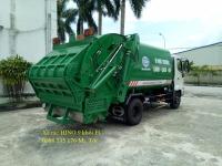 Xe rác trả góp giá rẻ, thùng INOX 9 khối