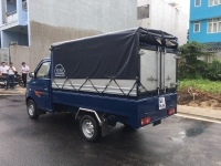 DongBen 870kg Thùng Mui Bạt sản xuất năm 2019 Số tay (số sàn) Xe tải động cơ Xăng