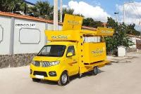 DongBen 870kg Thùng Lửng sản xuất năm 2016 Số tự động Xe tải động cơ Xăng