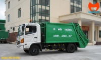 Bán xe ép rác Hino 9 khối FC9JETC Euro 4